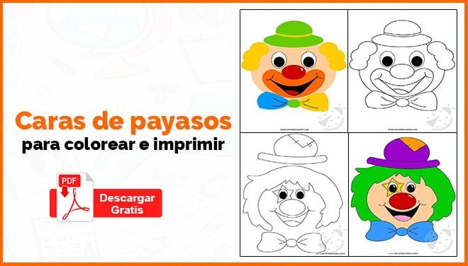 caras_de_payasos_para_colorear