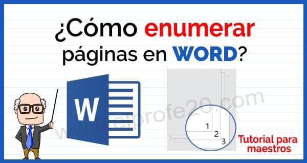 como_enumerar_paginas_en_word
