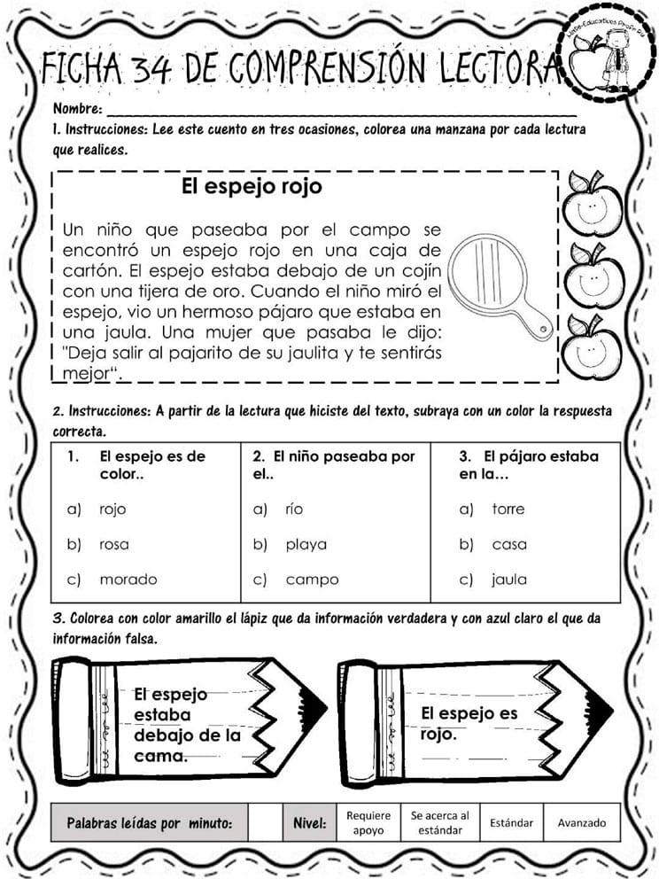 comprension_lectora_fichas_faciles