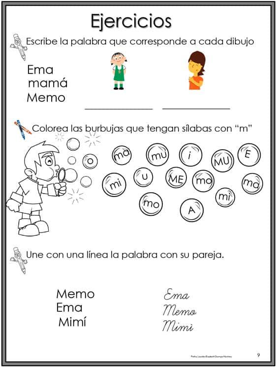 ejercicios_lecto-escritura
