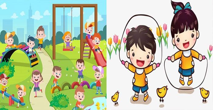 niños-jugando-saltando
