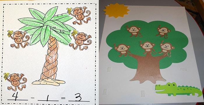 resta-monos-arbol